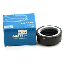 Camera Adapter For M42 Mount Lens To Samsung NX NX1 NX300M NX300 NX210 NX200