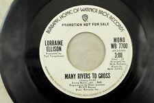 Lorraine Ellison - Promo Soul 45 RPM - Many Rivers To Cross K1