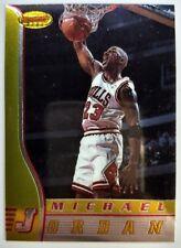 1996 96-97 Bowmans Best Michael Jordan #80, Premium Base MJ, Chicago Bulls HOF
