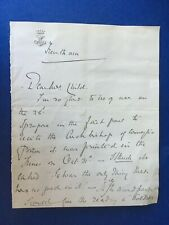 MILLICENT DUCHESS OF SUTHERLAND - SOCIETY HOSTESS - TWO PAGE SIGNED LETTER