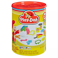 Play-Doh Classic Canister Retro Playset Non-Toxic Colors in Size 2oz cans