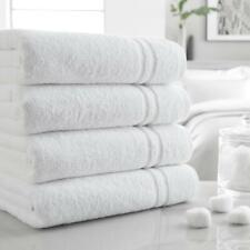 White Hotel Collection BARTON Towel 100% Cotton 550 GSM Hand Bath Sheet