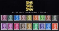 GB 1998 DEFINITIVE MACHIN PRESENTATION PACK No.41 1p to £1 MINT STAMP SET # 41