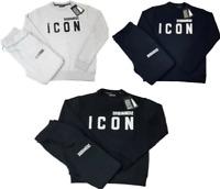 Men's Tracksuit Fleece Sweatshirt and Sweatpants Set