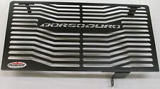 Aprilia Dorsoduro 750 (10>) Black Radiator Protector, Guard, Grill A008PCB L