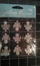 Jolee's Boutique Wedding Ornaments repeat dimensional stickers - new