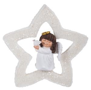 Vivid Arts - Hanging Christmas Mini Star  - Angel- Decoration