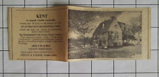 KENT A Residential Farm 15th Century House For Sale 5 Beds 80 Acres 1969 Advert