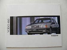 Catalogue / brochure VOLVO 460 de 1991