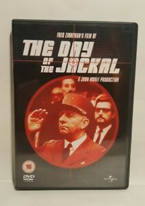 The Day Of The Jackal, (1973) DVD Edward Fox Alan Badel, UK R2 DVD