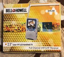 """Bell + Howell handheld TV 2.5"""" TFT LCD"""