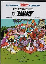 UDERZO. Les 12 Travaux d'Astérix. version bd du dessin animé. Hors Commerce NEUF