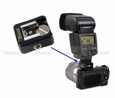 Hot Shoe Mount Adapter f Canon Nikon Standard Cold Foot Flash on Sony NEX Camera