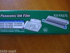 50 X Genuine Panasonic Ink Film KX-FA57E Made In Japan