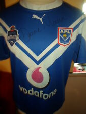 Duane Mann Match Worn Signed Auckland Lions Rugby League Shirt with COA