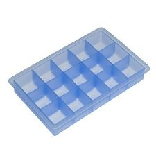 Lurch 1-Piece 3 cm Ice Cube Tray Cubes, Blue