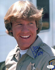 "(Ssg) Larry Wilcox Signed 8X10 Color ""ChiPs"" Photo with a Jsa (James Spence) Coa"