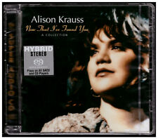 Audiophile SACD Alison Krauss - Now That I've Found You SEALED