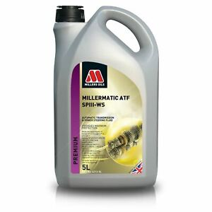 Millers Oils - Millermatic ATF SPIII-WS AutoTransmission & Power Steer Oil - 5L