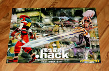 .hack Very Rare Manga Anime Promo Poster 56x40cm