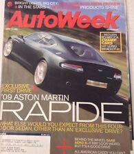 AutoWeek Magazine Aston Martin Rapide April 17, 2006 080317nonrh