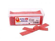 King Regal Golosinas Cintas Pica Fresa Tarro 300g