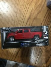 NEW AMERICAN LEGENDS 2019 GMC SIERRA 1500 SLT CREW CAB RED 1:43 ** FREE SHIPPING
