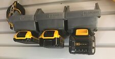 1X DeWALT 20V/60V BATTERY MOUNT w/screws - Works on Shelves, Garages & Toolboxes