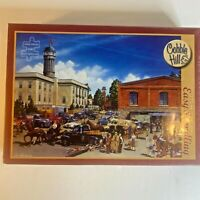 "Cobble Hill Puzzle ""Farmer's Market"" 275 Large Pieces Easy Handling - New Sealed"