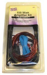 Amplifier Kit 150 Watt ROAD GEAR RG1 12 GA 12 FT Works w/t Any Amplifier NEW