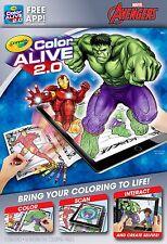 Crayola Colour Alive 2.0 (Color Alive 2.0) - Marvel Avengers