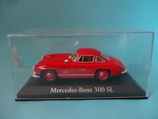 MERCEDES 300 SL MB - ROJO / RED - TAPA DE METACRILATO - 1/43 NUEVO NEW IXO RBA