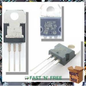 LM317 Voltage Regulator IC 1.25V-37V 1.5A TO-220