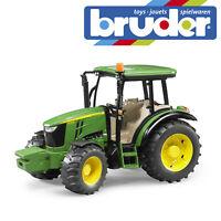Bruder John Deere 5115M Tractor Childrens Farming Toy Kids Farm Model Scale 1:16