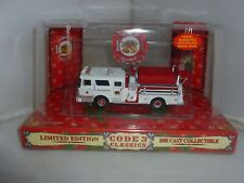 More details for code 3 collectable diecast fire engine christmas mack cf pumper