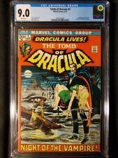 Tomb of Dracula #1 CGC 9.0 WP! 1st App. Dracula, Neal Adams!