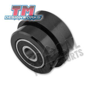 03-13 SUZUKI LTZ400: TM Designworks Powerlip Race Chain Roller (BLACK)