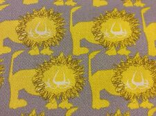 SI05 Echino Kokka Lion Canvas Japan Asia Patchwork Cotton Fabric Quilt Fabric