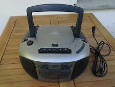 Tensai RCD-7242 Stereo-Radio Cassette Recorder (CD Player defekt)