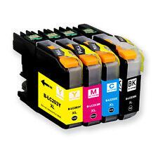 4 PK Ink Cartridge Set + smartchip for Brother LC203 J460DW J480DW J485DW