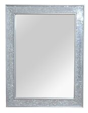 Wandspiegel Wanddeko Deko Spiegel Edel Design Mosaik Farbe: Antik-Silber