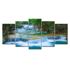 Canvas Print Painting Pictures Wall Art Home Decor Photo Blue Landscape Forest