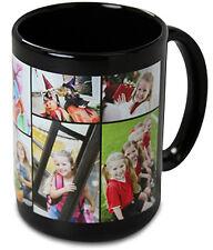 NEW Black Custom / Personalized 15 oz. Ceramic Coffee Mug with your Photo/Logo