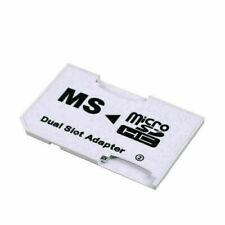 CR-5400 PoFast MicroSD MicroSDHC TF Card to MS Duo Dual Slot-Adapter: Super K7V4