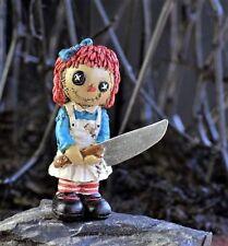 Miniature Fairy Garden Psycho Rag Doll Stake - Buy 3 Save $5