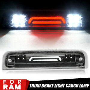 LED Clear 3rd Third Brake Cargo Light Fit For 2009-2018 Dodge RAM 1500 2500 3500