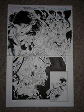 GREEN LANTERN NEW GUARDIANS 38 pg 15 STAR SAPPHIRE & WHITE LANTERN KYLE
