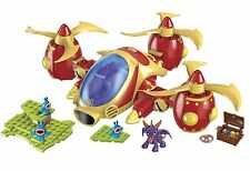 Mega Bloks Spyro Skylanders Giants Arkeyan Copter Attack Building Set 138 Pcs