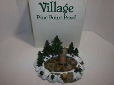 Vintage Dept 56 Pine Point Pond