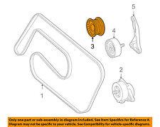 Mercedes MERCEDES-BENZ OEM G55 AMG-Serpentine Drive Belt Idler Pulley 1132020419